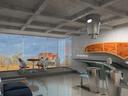 Проект современной кухни Buick-Chief. Фото 6
