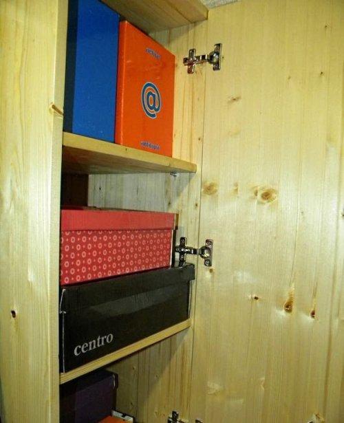 Петли для дверцы шкафа