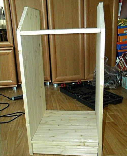 Как сделать шкаф в прихожую своими руками