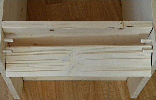 Задняя часть тумбы шкафа