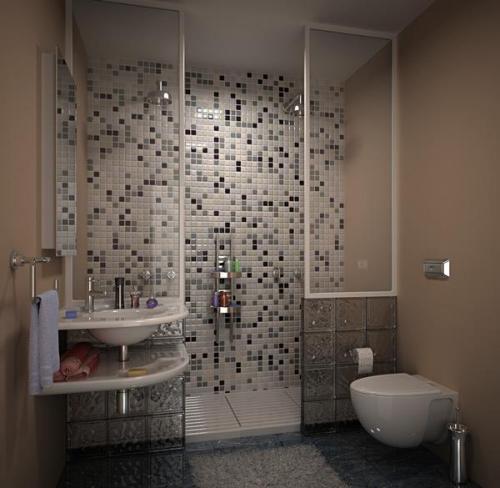 Как правильно выполнить дизайн и организовать интерьер маленькой ванной комнаты?