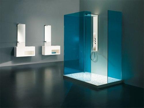 Минималистский стиль в интерьере ванной комнаты