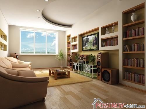 Простота в дизайне однокомнатной квартиры