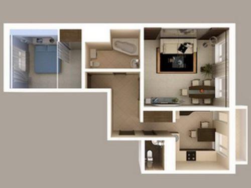 Место для спальни в доме или квартире
