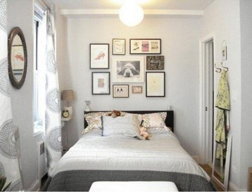 Интерьер маленбкой спальни