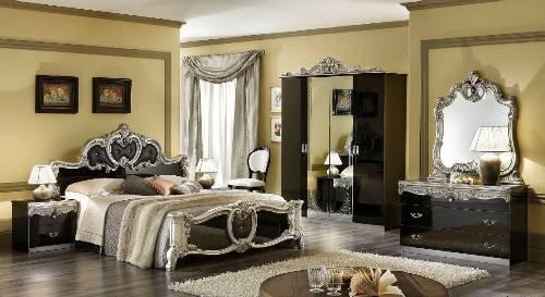 Дорогое оформление спальни