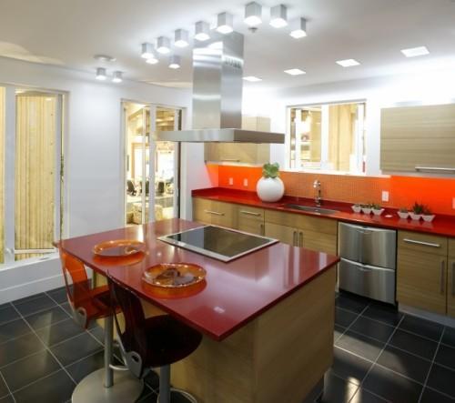 Каким может быть потолок на кухне?