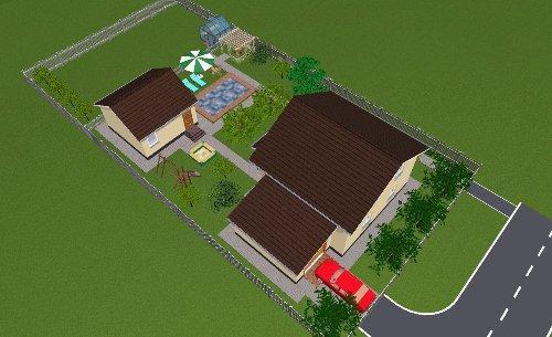 Ландшафтный дизайн участка 8 соток