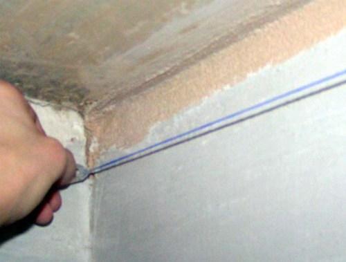 Как правильно задать плоскость потолка?