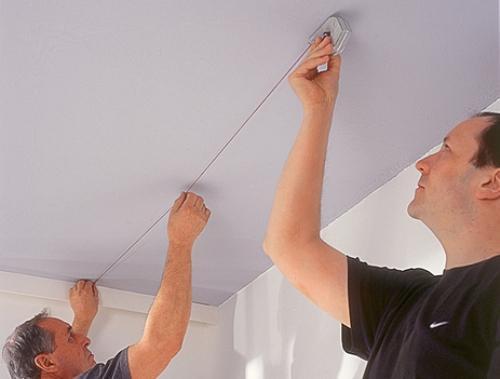 Как правильно задать форму потолка