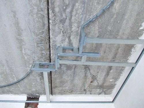 Объемный каркас под потолок