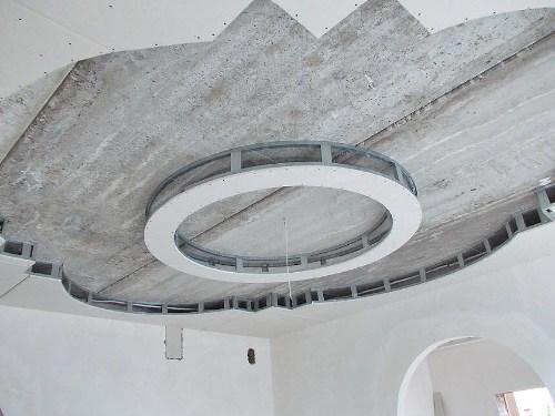 Кольцо из гипсокартона