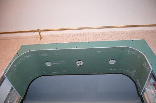 Окончательная зашивка арки гипсокартоном