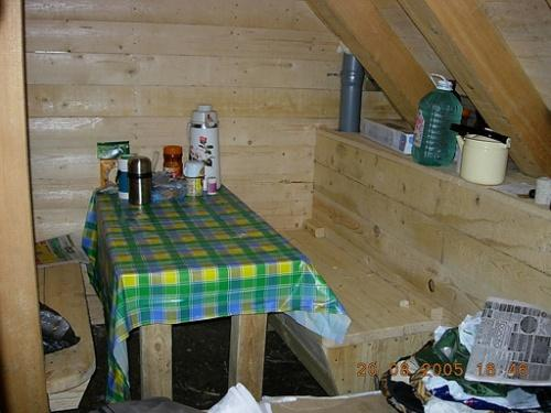 Как сделать стол для землянки