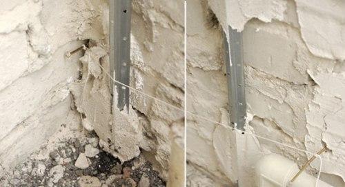 Использования нитки для установки промежуточного маяка