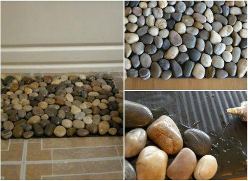 Каменный коврик на пол