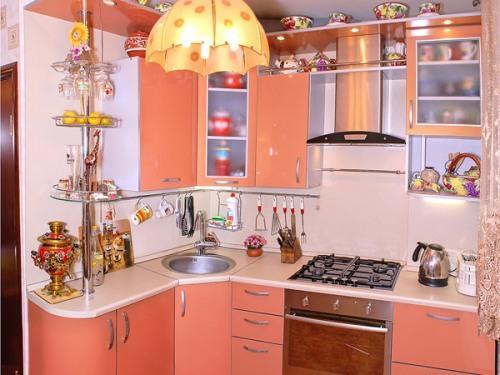 Замечательный дизайн кухни 5 м2