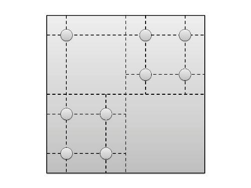 Разметка деталей кухонного уголка под сверление