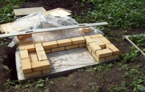 Мангал из кирпича на даче. Как построить мангал?