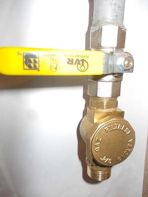 Газопровод, который нужно подключить к котлу