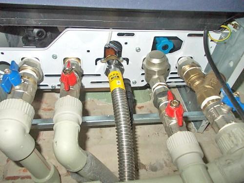 Подключаем котел к газопроводу