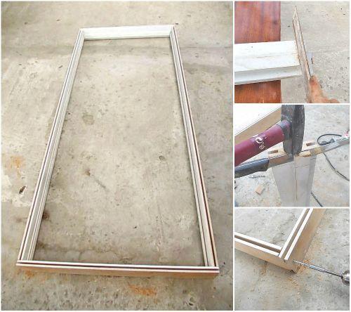 Сборка дверной коробки своими руками: процесс монтажа в деталях