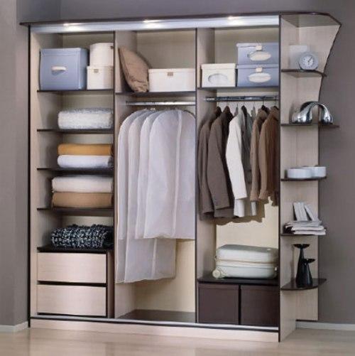 Планировка шкафа