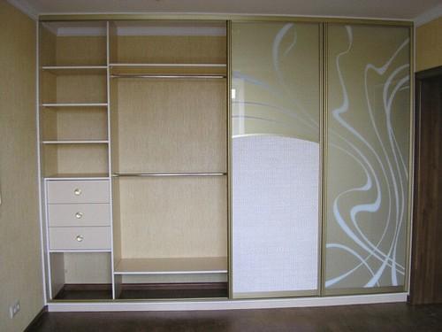 Шкаф-купе внутри. Примеры планировок шкафа