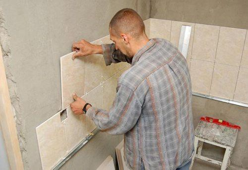 Укладка плитки на стену своими руками. Как правильно положить плитку?