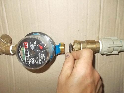 Правила установки счётчика воды своими руками