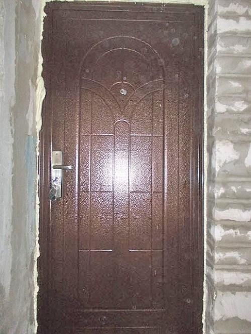 Входная дверь своими руками