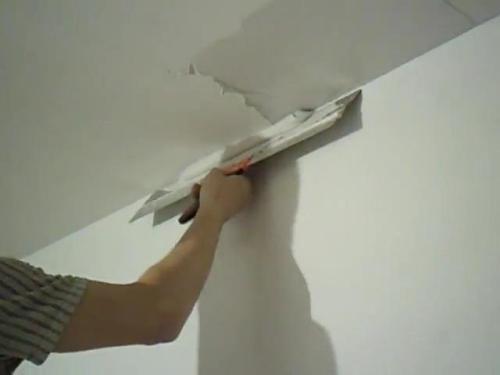 Выравнивание потолка своими руками. Как правильно выровнять потолок?