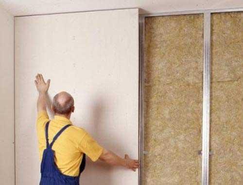 Особенности отделки стен гипсокартоном