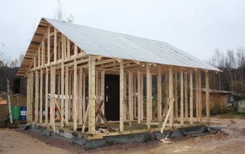 Строительство дачного дома своими руками опыт6