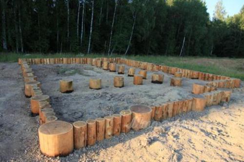 Деревянный фундамент. Строим экологически чистый фундамент