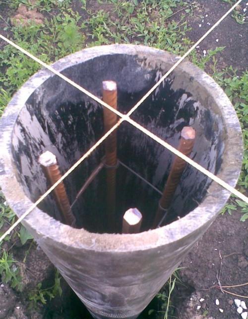 Как сделать фундамент на трубах