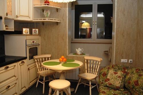 Кухня с балконом своими руками