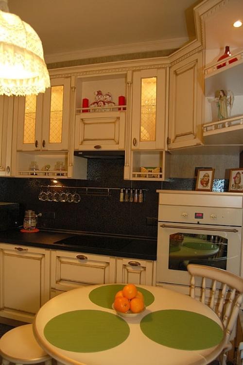 Интерьер кухни своими руками. Фото