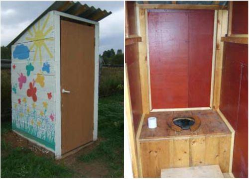 Как построить туалет для дачи своими руками?