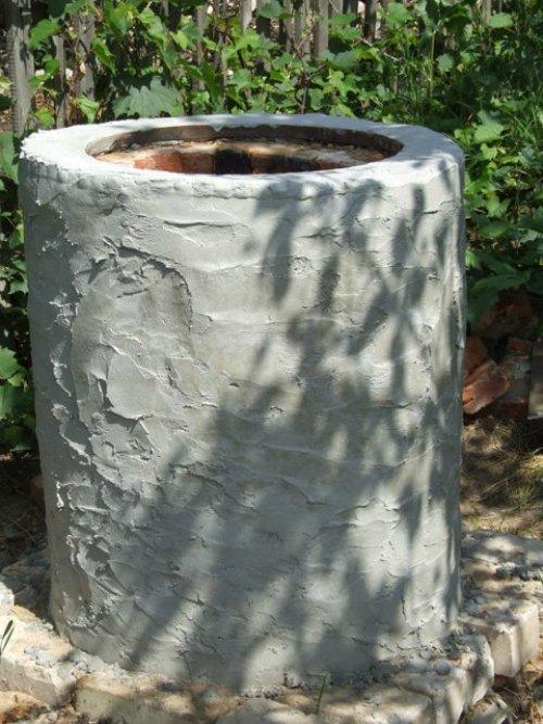 Отдела цементным раствором