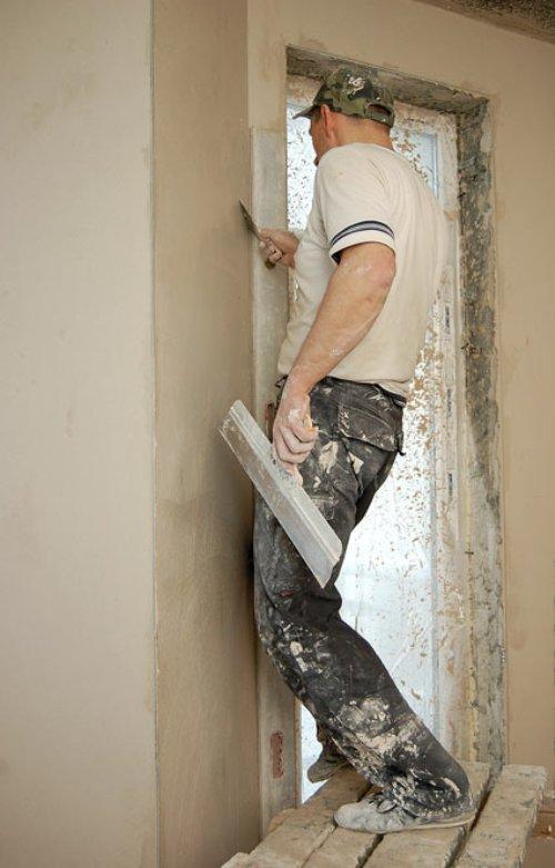 Обработка стен в углах