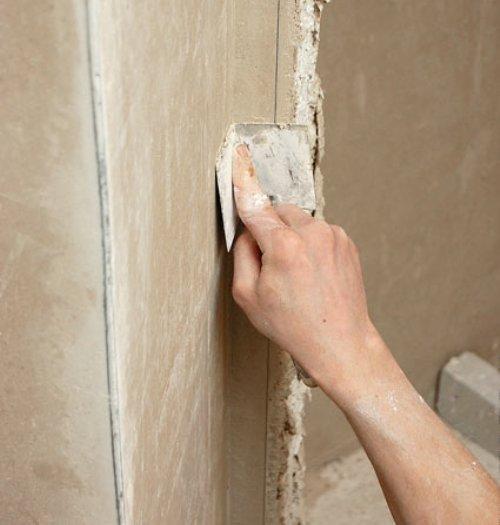 Как сделать внутренние углы на стенах 744