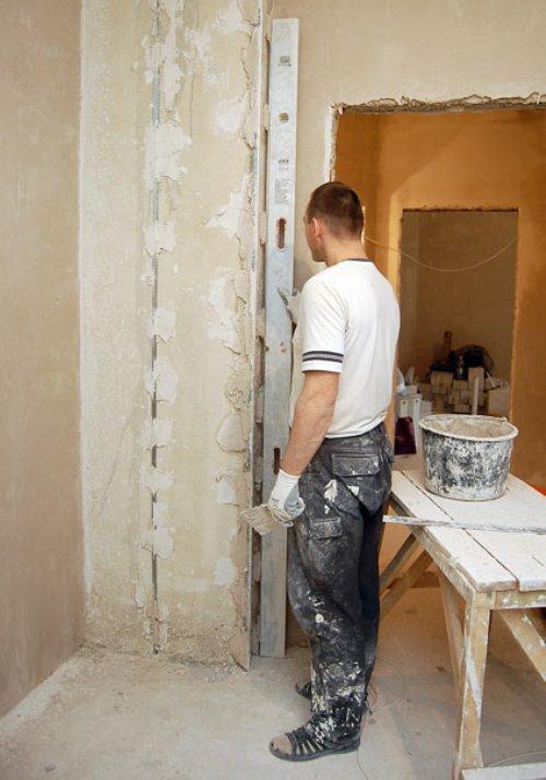 Как выровнять внутренние углы стен своими руками 57
