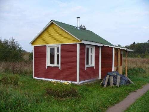 Маленький домик своими руками. Строительство дома 5х4 м. Фото и видео