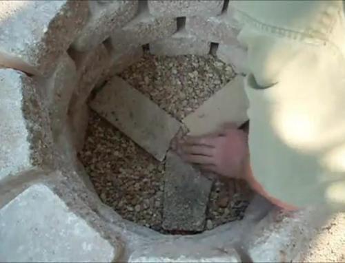 Засыпка камней