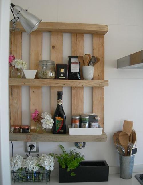 Самодельная полка для кухни