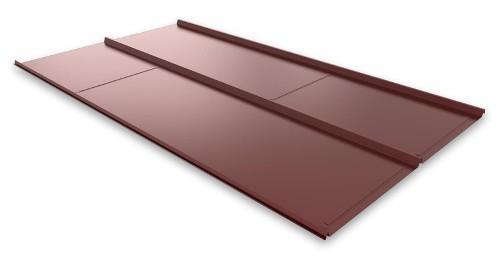 Какой металл используется для металлической кровли?