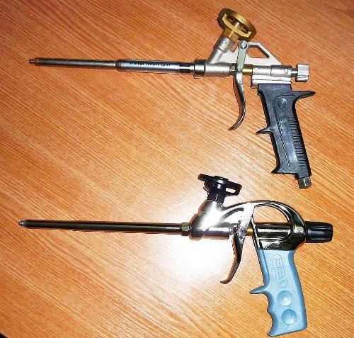Как правильно выбрать пистолет для монтажной пены?