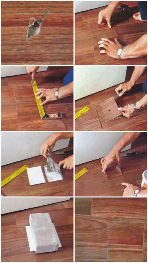 Что можно сделать из линолеума своими руками фото