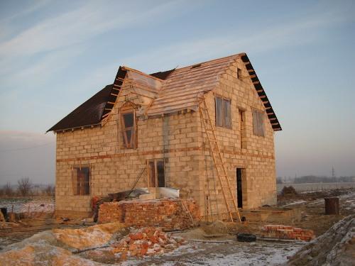 Строительство дома своими руками без опыта строительства фото